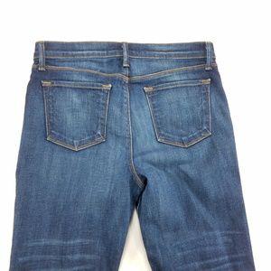 J Brand Maria Straight Womens Denim Jeans Pants